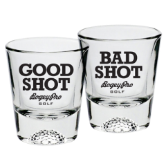 Shot Glasses: Good Shot / Bad Shot