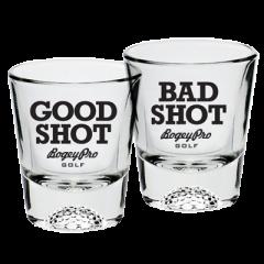 Shot Glasses: Good Shot / Bad Shot