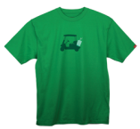 """Keg in Cart"" T-Shirt - Green"