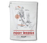 "BogeyPro Golf Towel: Lessons ""The Foot Wedge"""