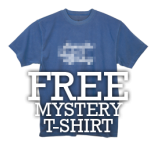 FREE BogeyPro Mystery T-Shirt with any $25 order