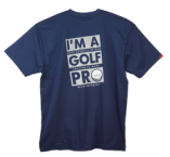 "Read Closer ""Golf Pro"" T-Shirt - Navy"