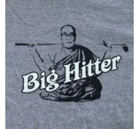 """Big Hitter"" T-Shirt - Grey"