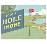 Man Cave Art - Hole in One