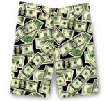 "LoudMouth shorts - ""Money"""
