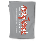"BogeyPro Golf Towel: Fake Courses ""Hooky Creek"""