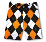 "LoudMouth shorts - ""Orange & Black"""