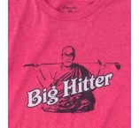 """Big Hitter"" T-Shirt - Red"
