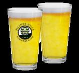 """""""Pilsner Hills"""" Beer Pint"""