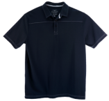 """Swing Harder"" BogeyPro Polo - Black"