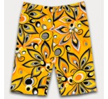 "LoudMouth shorts - ""Shagadelic Yellow"""