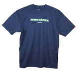 """Swing Harder"" T-Shirt - Navy"