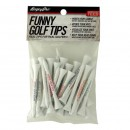 Funny Golf Tees - assorted pack