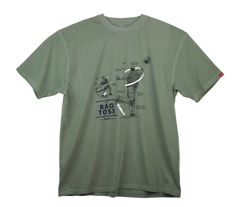 "Lessons: ""The Bag Toss"" T-Shirt"
