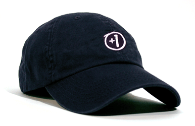 +1 Golf Hat Navy