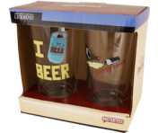 2 Pack of BustedTees Pints