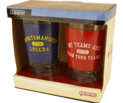 2 Pack of BustedTees Sportsmanship Pints