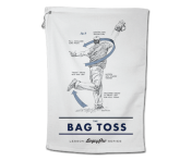 "BogeyPro Golf Towel: Lessons ""The Bag Toss"""