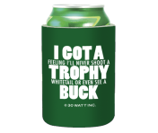 "Stump Logic Can Cooler - ""Trophy Buck"""