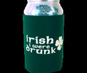 """Irish I Were Drunk"" Can Cooler"