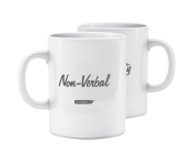 "Morning Mood Mug - ""Chatty / Non-Verbal"""