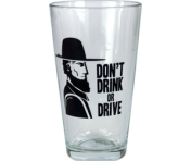 "BustedTees ""Amish Don't Drink or Drive"" Pint"