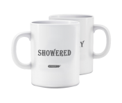 "Morning Mood Mug - ""Showered / Filthy"""
