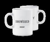 "Morning Mood Mug - ""Showered / Filthy"""