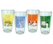 "Someecards ""Party"" Pints - set of 4"