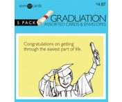 Someecards Graduation Greeting Cards 2 - 5 pack
