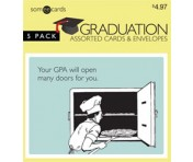 Someecards Graduation Greeting Cards 1 - 5 pack