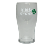 """Irish I Were Drunk"" Pub Glass"