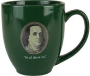 """It's All About Me."" Bistro Mug"