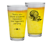 "Someecards ""Legendary Partying"" Pint"