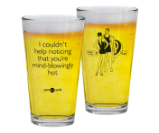 "Someecards ""Mind-Blowingly Hot"" Pint"