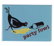"BustedTees ""Party Fowl"" Magnet"
