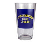 "BustedTees ""Sportsmanship is for Losers"" Pint"