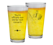 "Someecards ""Rock Concerts"" Pint"
