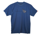 """UnderHill Bill"" T-Shirt - Navy"
