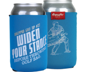 """Widen Stance"" Can Cooler"