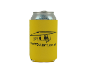"BustedTees ""What Wouldn't Jesus Do?"" Can Cooler"