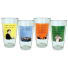 "Someecards ""College"" Pints - set of 4"