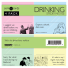 "Someecards ""Drinking"" Sticky Notes - 4 pack"