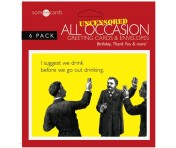 Someecards All Occasion Greeting Cards - 6 pack