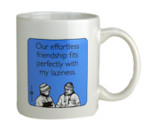 "Someecards ""Effortless Friendship"" Mug"
