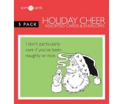Someecards Holiday Cheer Greeting Cards - 5 pack