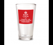"""Keep Calm"" Pint"