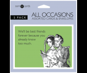 Someecards All Occasion Censored Greeting Cards - 5 pack
