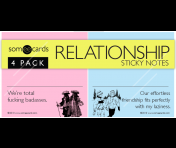 "Someecards ""Relationship"" Sticky Notes"