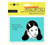 Someecards UNCENSORED Greeting Cards - 6 pack